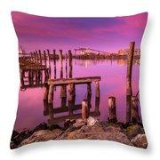 Humboldt Twilight Glow Throw Pillow