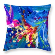 Hummer's Explosion Throw Pillow