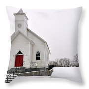 Humphreys Chapel Throw Pillow