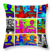 Humungus In Color Throw Pillow