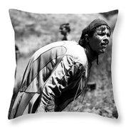 Hunchback Throw Pillow