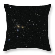 Hundreds Of Galaxies In The Coma Throw Pillow