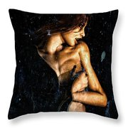 Hunger  Throw Pillow