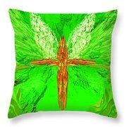 Hunger Cross 7 Throw Pillow