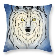Hungry Like The Wolf Throw Pillow