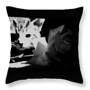 Hunt Of The Rose Throw Pillow