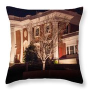 Hunter Museum By Night 1 Throw Pillow