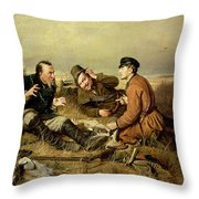 Hunters, 1816 Throw Pillow