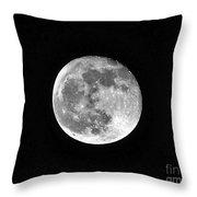 Hunters Moon Throw Pillow