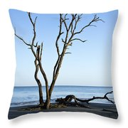 Hunting Island Graveyard Throw Pillow