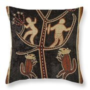 Hunting Trouble Throw Pillow