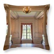 Huntington Art Gallery Interior. Throw Pillow