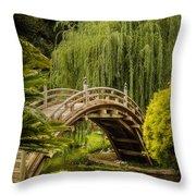 Huntington Japanese Garden No 3 Throw Pillow