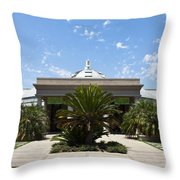 Huntington Library Conservatory Throw Pillow