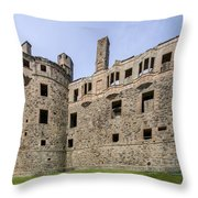Huntly Castle - 3 Throw Pillow