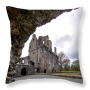 Huntly Castle - 6 Throw Pillow
