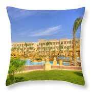 Hurghada Hotel 02 Throw Pillow