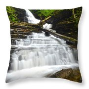 Huron Falls Throw Pillow