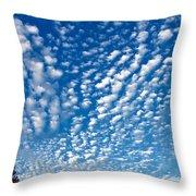 Huron Sky 4 Throw Pillow