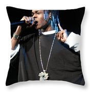 Hurricane Chris Throw Pillow