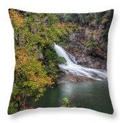 Hurricane Falls Throw Pillow