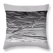 Hurricane Fighter Plane Relief Throw Pillow