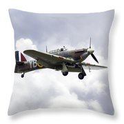 Hurricane Lf363 Throw Pillow