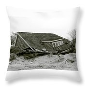 Hurricane - Sandy - Storm Throw Pillow