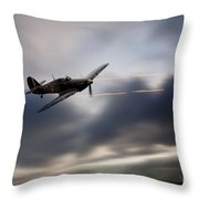 Hurricane Sting  Throw Pillow