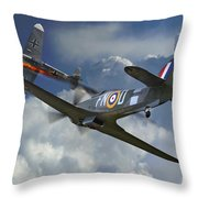 Hurricane Victory Throw Pillow