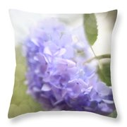 Hush Throw Pillow by Amy Tyler