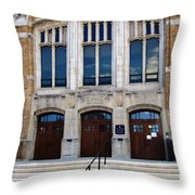 Hutchinson Central Technical High School Throw Pillow
