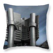 Hvb Building Throw Pillow