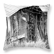 Hwy 61 La Shed Throw Pillow