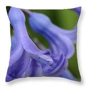 Hyacinth Closeup Throw Pillow