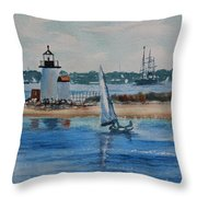 Hyannis Harbor Throw Pillow