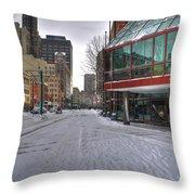 Hyatt Regency Buffalo V2 Throw Pillow