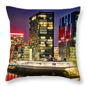 Hyatt Regency Dusseldorf Throw Pillow