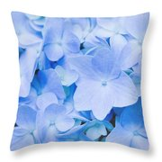 Hydrangea Macrophylla  Throw Pillow
