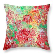 Hydrangeas II Throw Pillow