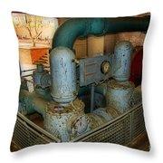 Hydro Power Throw Pillow