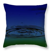 Hydrogen Sulfide Throw Pillow