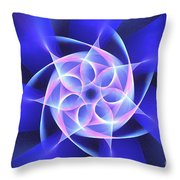 Hydros Throw Pillow