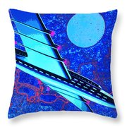 Hyperspace Throw Pillow