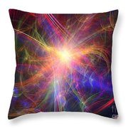 Hypervelocity Star Throw Pillow