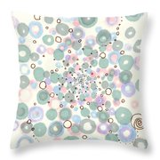Hypnosis For Honeybees Throw Pillow