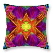 Hypnotic Expression Throw Pillow