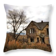 I Am Abandoned Throw Pillow