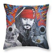 I Am Captain Jack Sparrow Throw Pillow