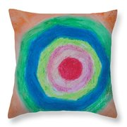 I Am Here Because I Exist Throw Pillow